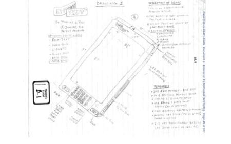 Patente de supuesto iPhone