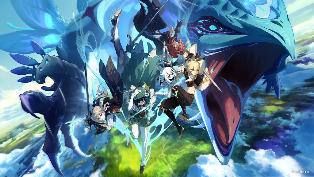 Genshin Impact llegará a Epic Games Store en unos días acompañado por un código para descargar gratis algunas recompensas