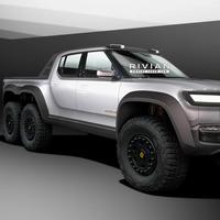 La Rivian R1T ya planta cara a la Tesla Cybertruck también en 'mutaciones' extravagantes: de la pick-up policía a la de 6 ruedas