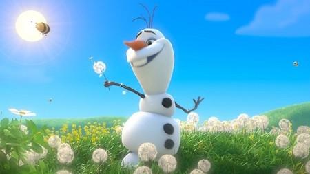El muñeco de nieve de