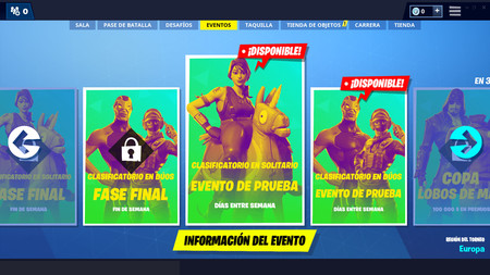 Fortnite Copa Lobos De Mar