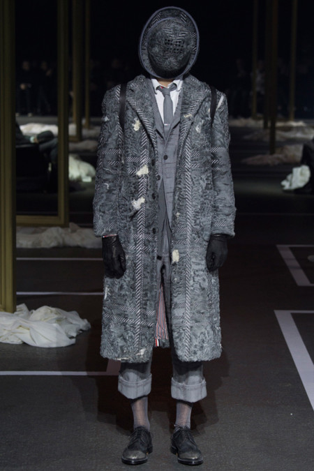 Thom Browne Fall Winter 2016 Paris Fashion Week 9