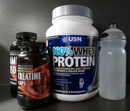 3 complementos básicos para ganar masa muscular