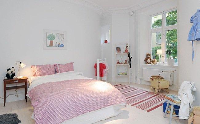 Dormitorios infantiles de estilo n rdico for Habitaciones infantiles estilo escandinavo