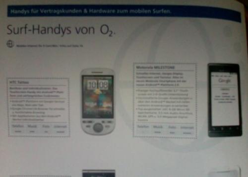 MotorolaMilestone,asípodríallamarseelDroidenEuropa