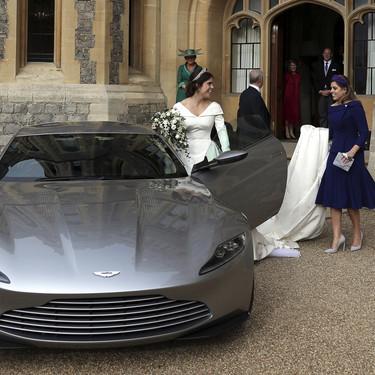 Eugenia de York luce un vestido de fiesta post-boda cargado de simbolismo