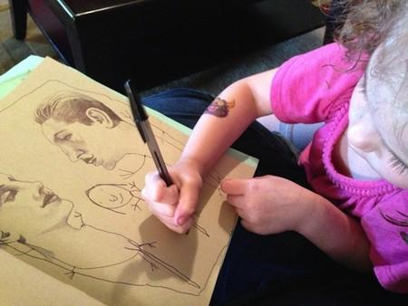 ¿Qué harías si tu hijo te pidiera colaborar contigo en un trabajo artístico?