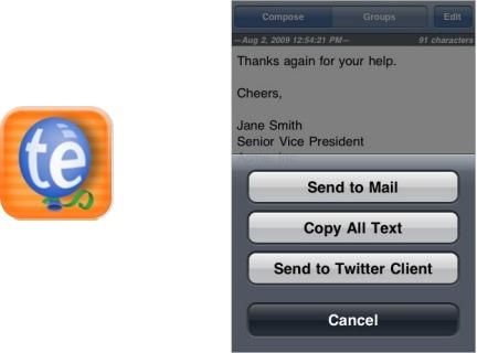 TextExpander ya tiene aplicación para el iPhone