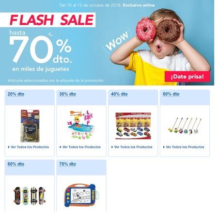 Flash sale en Toys 'r us: hasta el 70% de descuento en cientos de juguetes para todas las edades