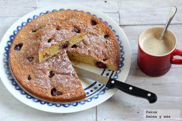 Receta de pastel de cerezas casero