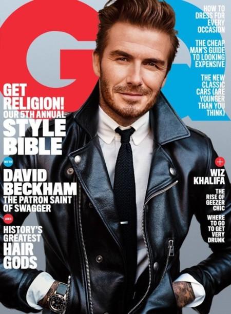 A David Beckham todo le sienta bien en la doble portada de GQ