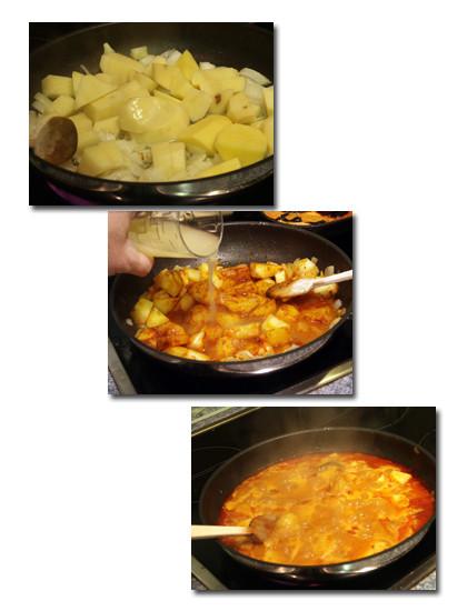 patatas castellanas pasos