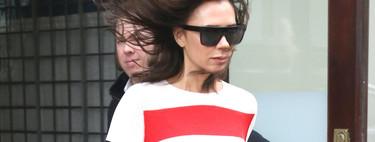 Definitivamente el color rojo es el favorito de Victoria Beckham