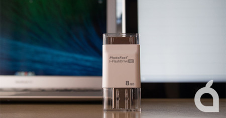 PhotoFast i-FlashDrive HD, almacenamiento externo para tu dispositivo iOS