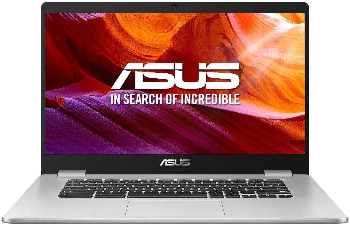 "ASUS Chromebook Z1500CN-EJ0165 - Ordenador portátil de 15.6"" FullHD (Intel Pentium N4200, 8GB RAM, 64GB EMMC, Intel HD Graphics 505, Chrome OS) Plata - Teclado QWERTY Español"