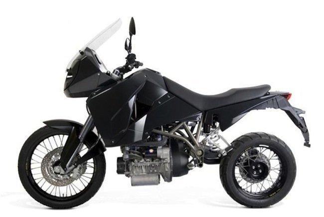 T-800, la moto diesel