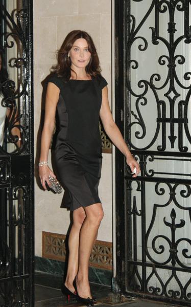 Foto de El estilo de Carla Bruni: la Jackie Kennedy del siglo XXI (6/11)
