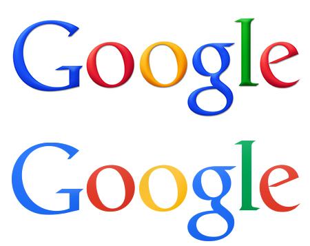 Plano y sin relieve. ¿Será éste el próximo logo de Google?