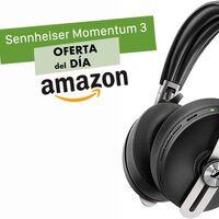 Sólo hoy en Amazon, los auriculares inalámbricos con cancelación de ruido Sennheiser Momentum 3 te salen 120 euros más baratos que en otras tiendas