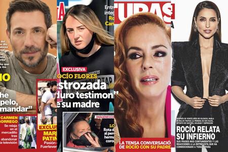 Antonio David amenaza con demandas, Rocío Flores está hundida y Paloma Cuevas renace de sus cenizas: estas son las portadas del miércoles 24 de marzo