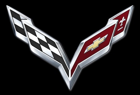 logotipo prohibido de Chevrolet Corvette