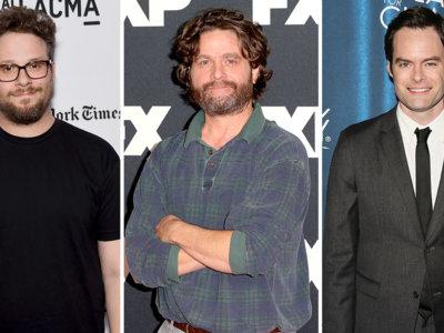 Seth Rogen, Zach Galifianakis y Bill Hader irán al espacio en 'The Something'