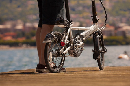 Sunstar pedelec bicicleta eléctrica plegable