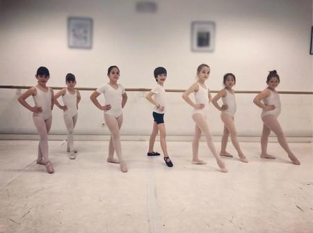 Diego haciendo ballet
