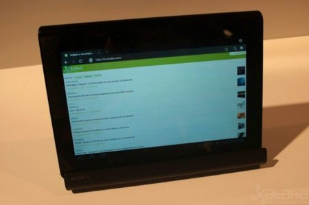 Sony Tablet S, el esperado tablet Android de Sony en IFA 2011