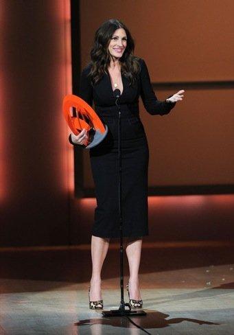 Las mujeres con más glamour de 2010: unos premios con unas famosas muy corrientes