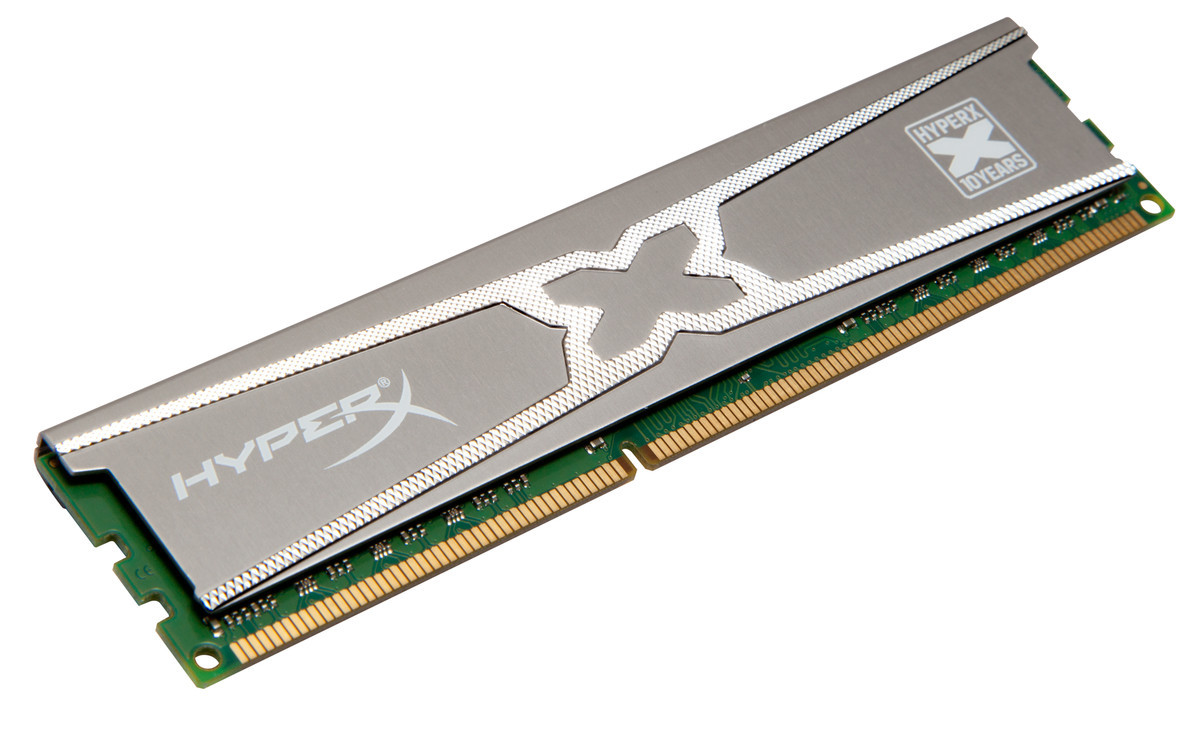 Foto de Kingston HyperX RAM 10th Year Anniversary Edition (3/4)