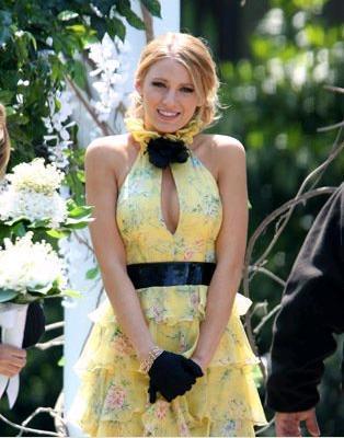 Más imágenes de Gossip Girl y algunas pistas para ir de boda