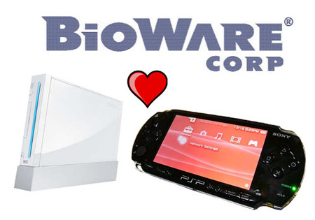 BioWare piensa en PSP y Wii