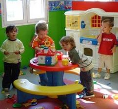 La actividad física de los niños en las guarderías  relacionada con menores conductas sedentarias