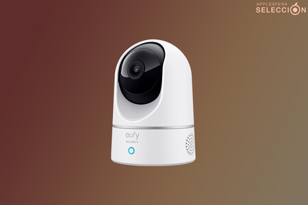 Protege tu hogar con esta cámara para interiores eufy 2K compatible con HomeKit Secure Video por 39,99 euros