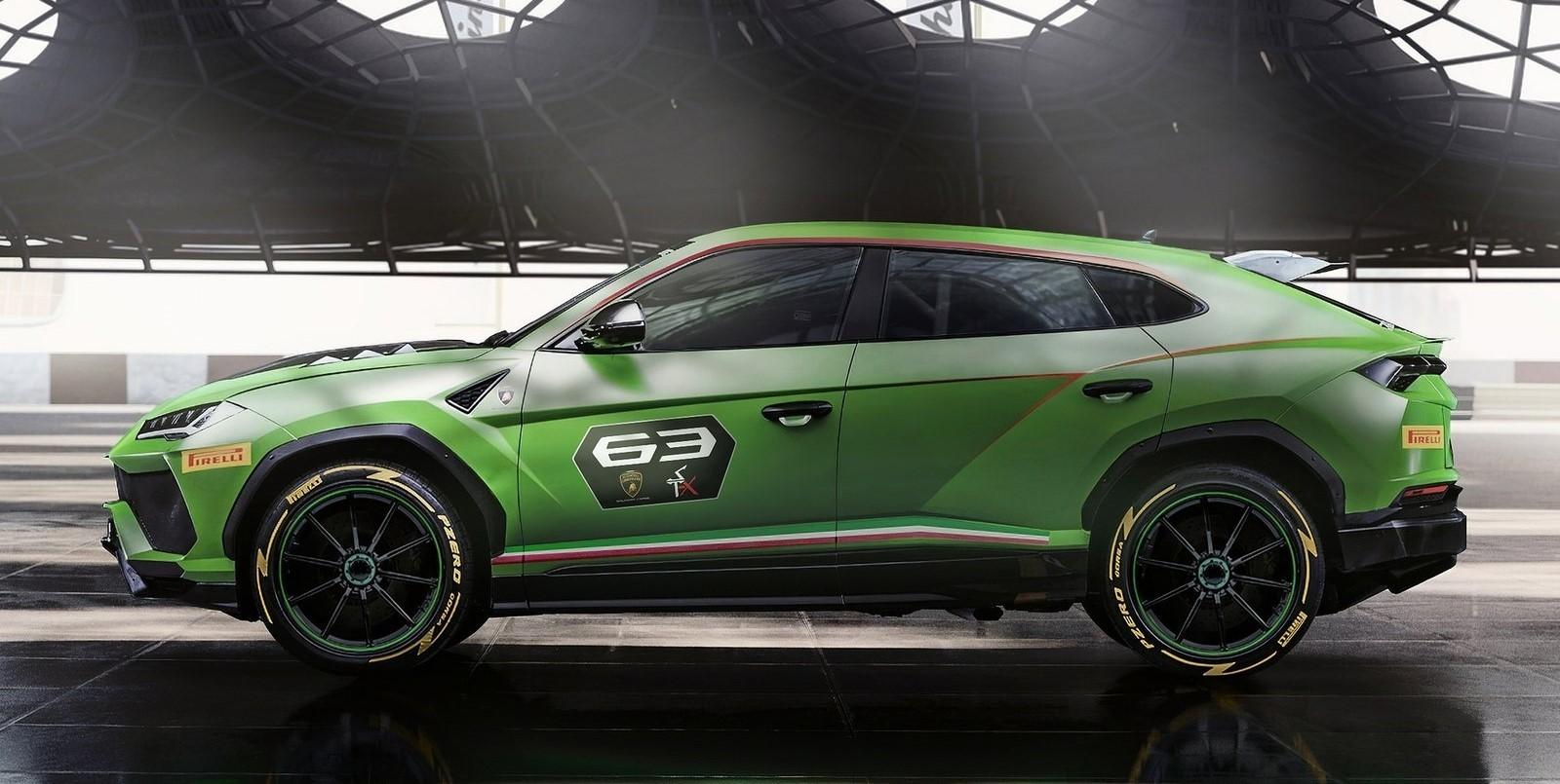 Foto de Lamborghini Urus ST-X Concept (2/6)