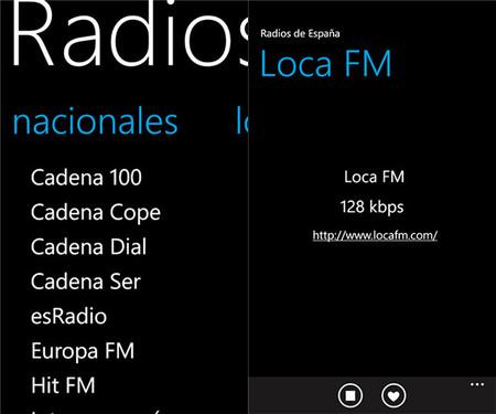 Radios de España app