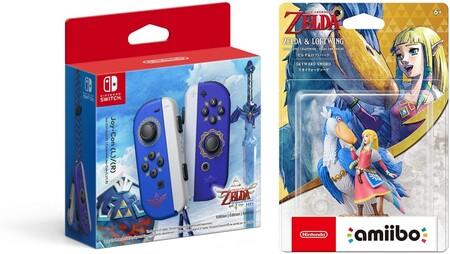 Skyward Sword Joy-Con y amiibo en preventa en México, The Legend of Zelda
