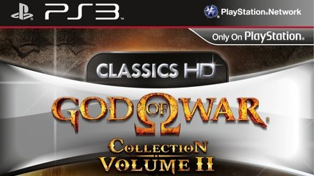 'God of War Collection Volume II'. Portada y fecha europea