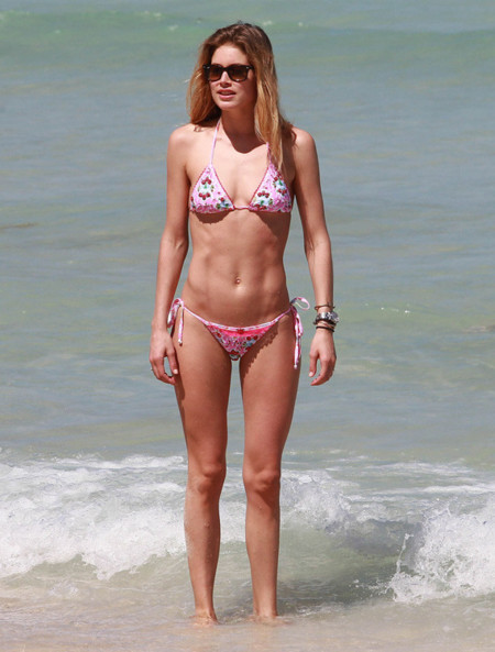 Doutzen Kroes playa