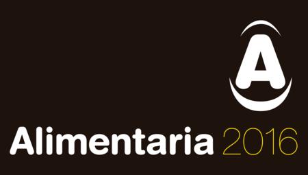 Logo Alimentaria 2016 Icono Invertido