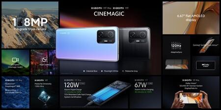 Xiaomi 11t 11t Pro Lanzamiento Ficha Tecnica
