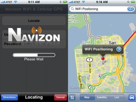 GPS virtual para el iPhone de Apple
