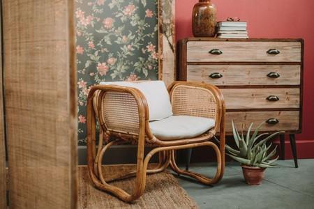 Muebles materiales naturales
