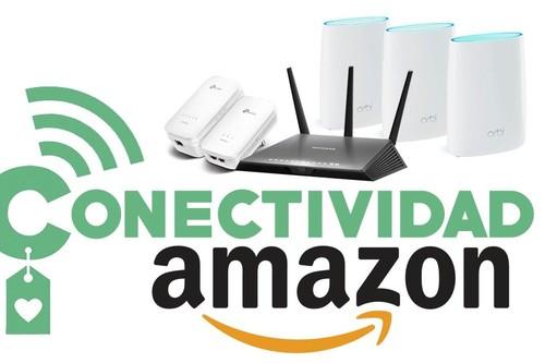 7 ofertas en conectividad en Amazon para no quedarte corto en alcance o en número de dispositivos con tu red