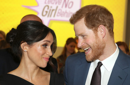Meghan Markle luce el perfecto 'little black dress'