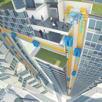 Los ascensores maglev son esa pieza clave en el futuro de las ciudades verticales