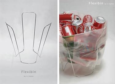 Flexibin, una papelera diferente