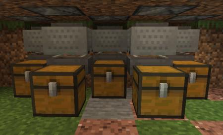 vagonetas con tolvas guía granja de lana Minecraft
