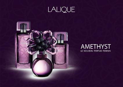 El perfume más femenino de este verano Amethyst de Lalique